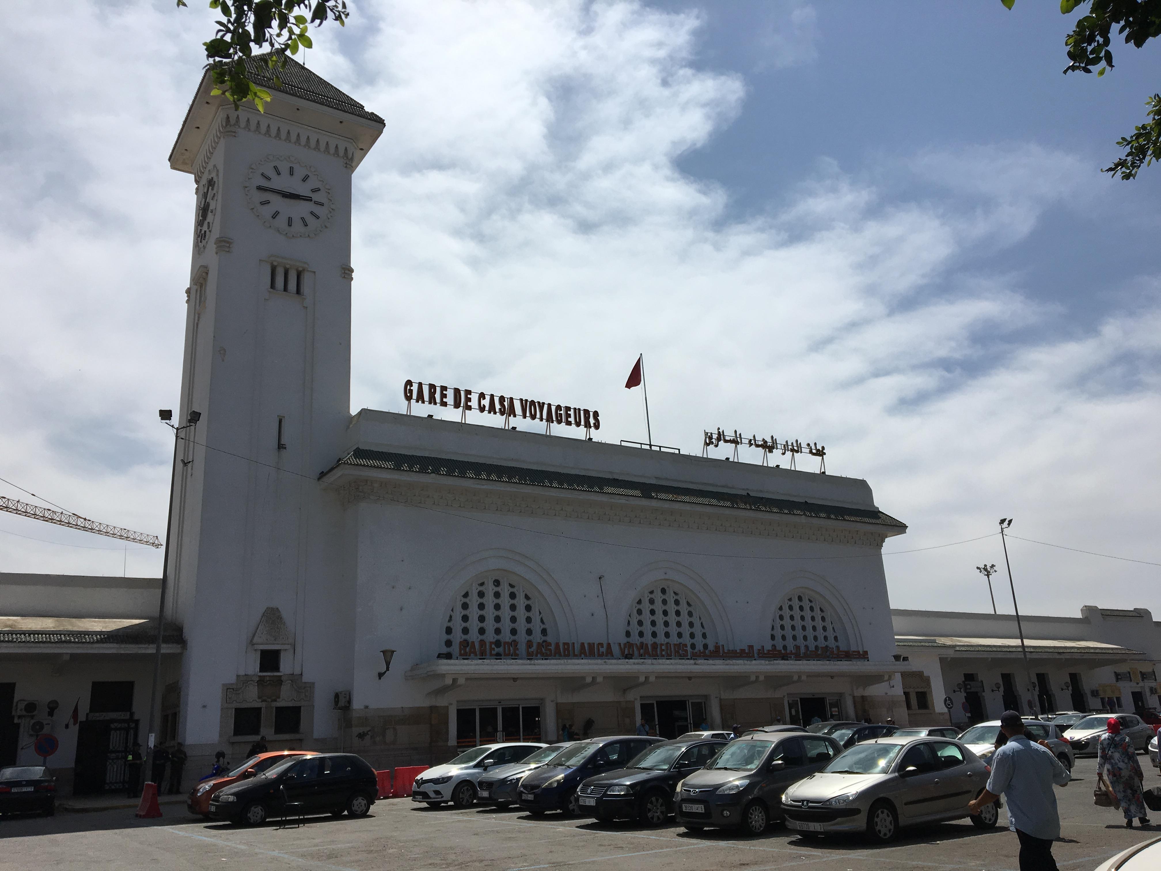 Reizen met openbaar vervoer in Marokko