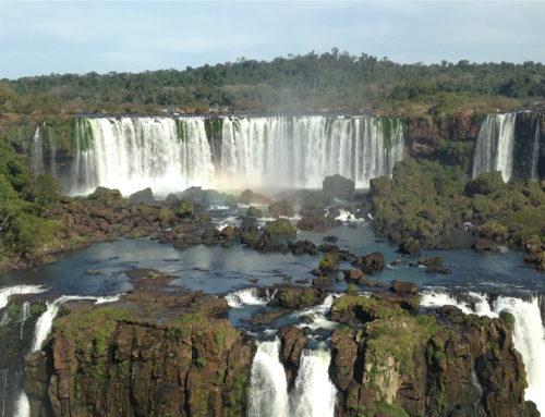 Een bezoek aan de Iguaçu watervallen