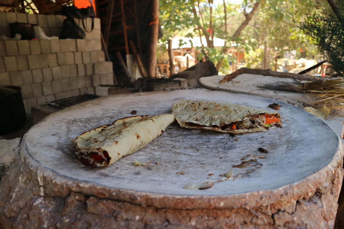 Mexicaanse tlayuda