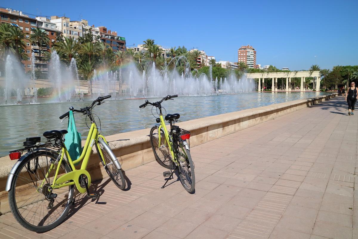 Fietsen huren in Valencia