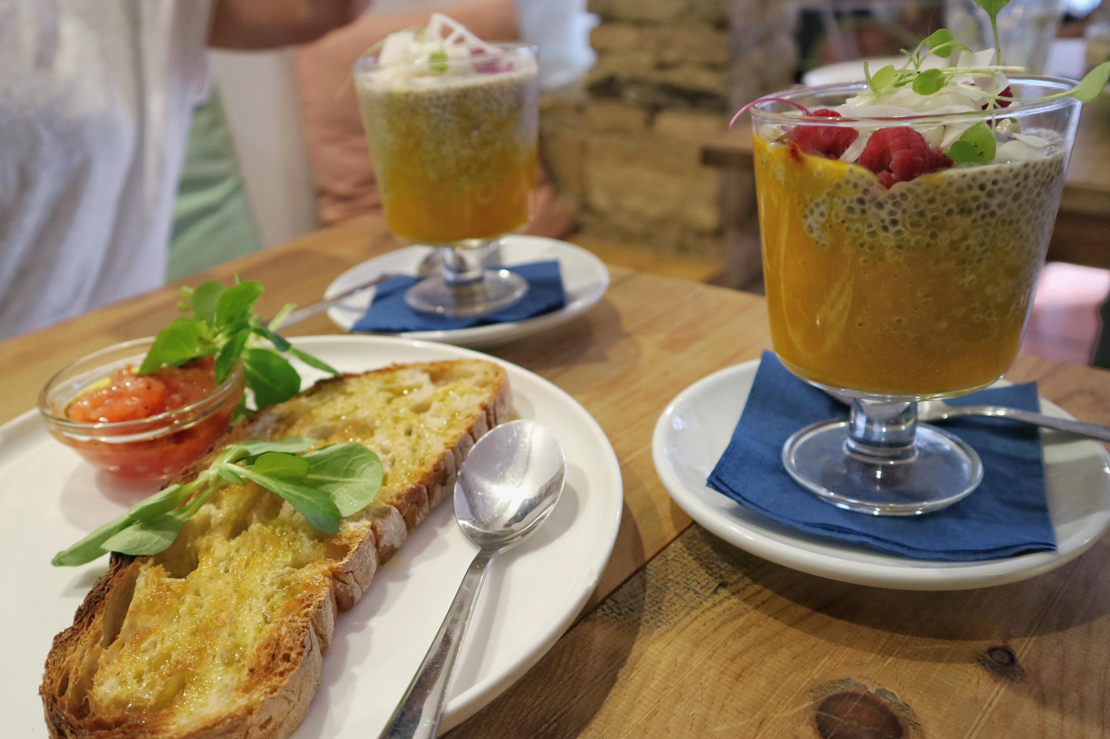 Ontbijten in Ruzafa Valencia