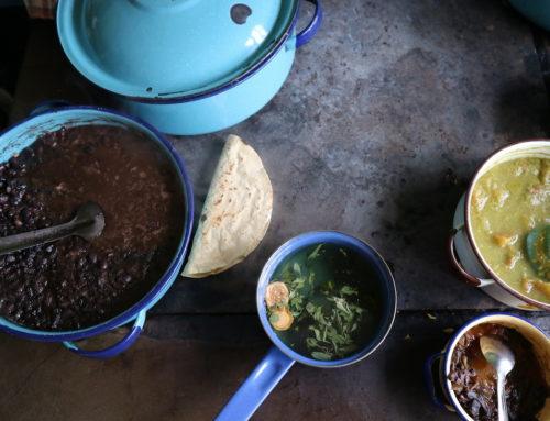 Vegetarisch Mexicaans recept: aubergine al pastor