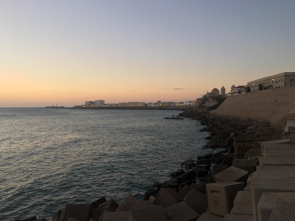 Uitzicht Cadiz