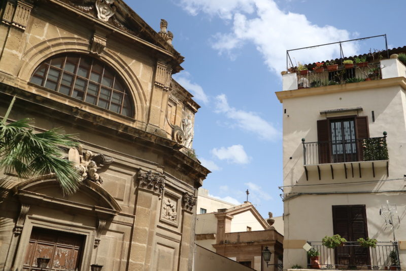 Palermo, Sicilië, stad van contrasten