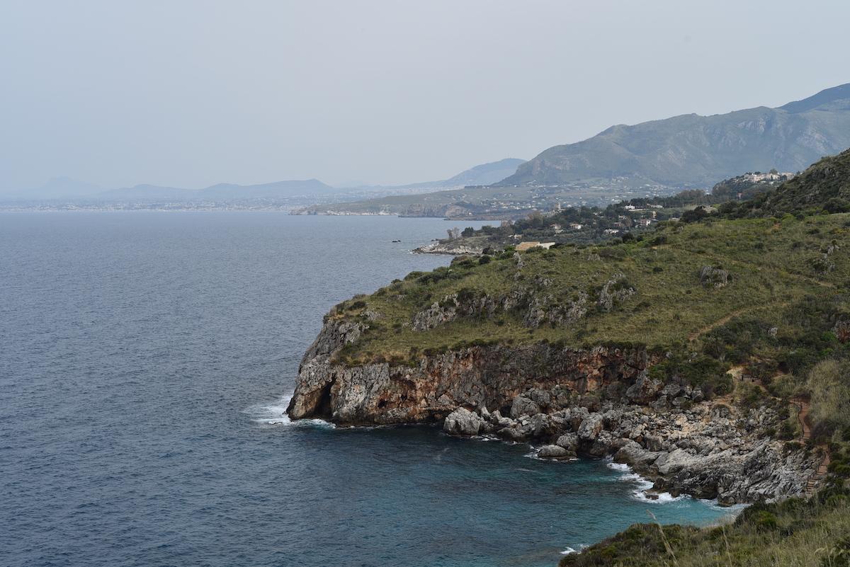 Wandelingen kust sicilie