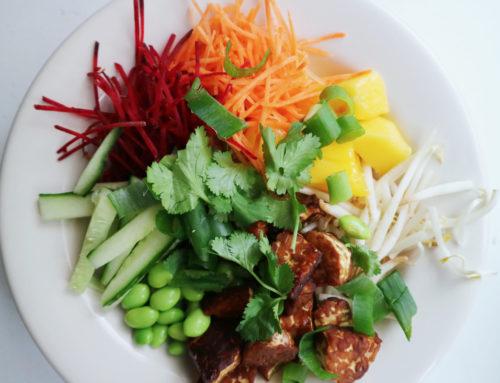 Vegan recept: tempeh bowl met quinoa