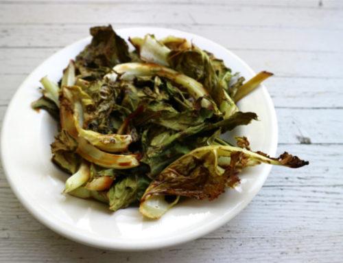 Recept voor gegrilde bloemkoolbladeren