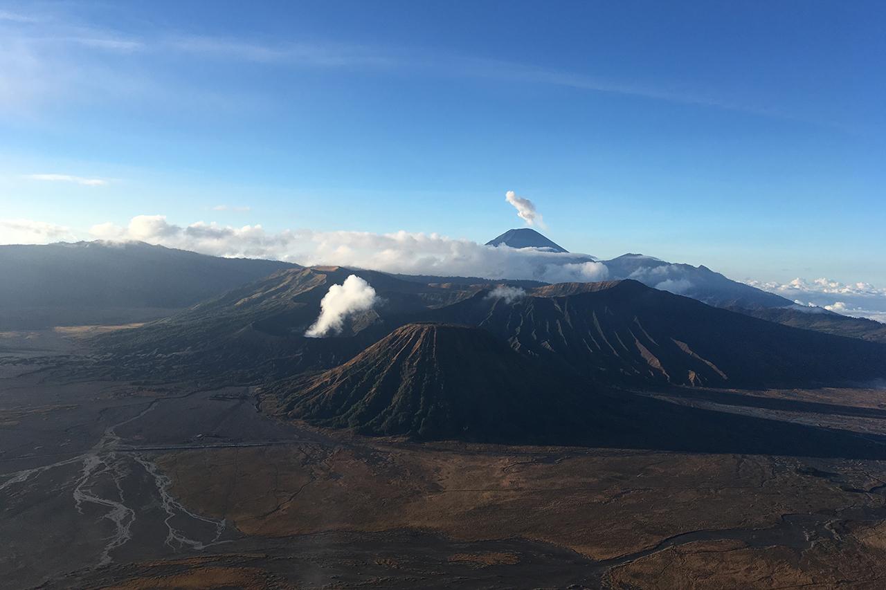 tips bromo vulkaan