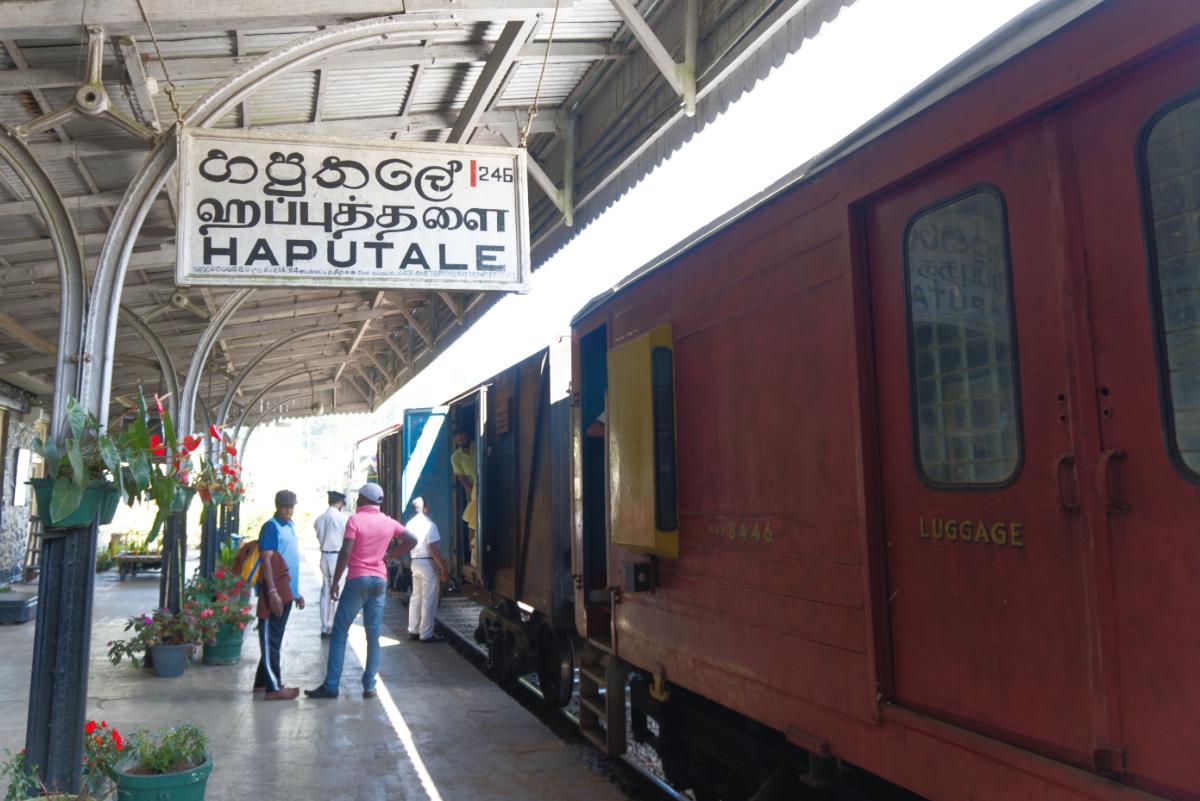 treinstation van haputale