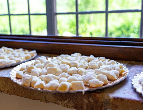Vegan recept: Gnocchi met paddenstoelen en truffel