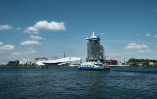 stadswandeling pont amsterdam noord