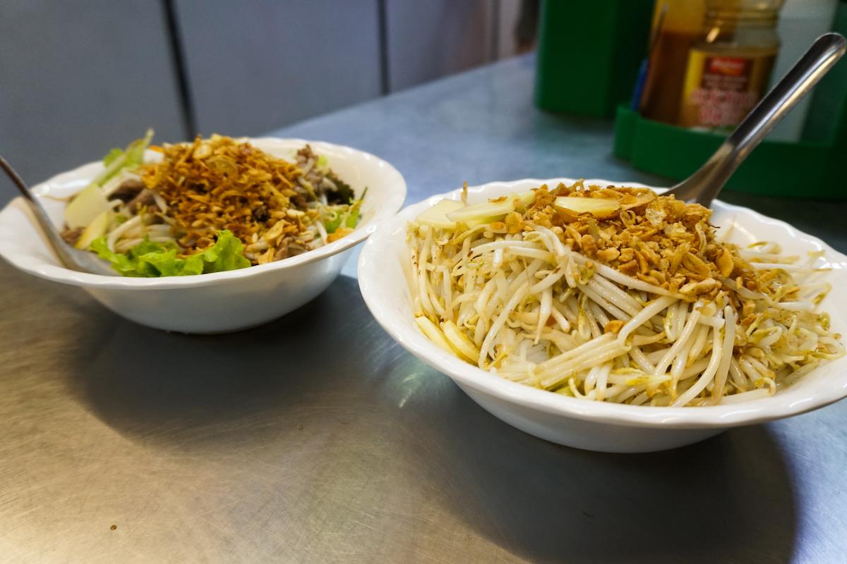 Vegetarische Bun Cha Hanoi