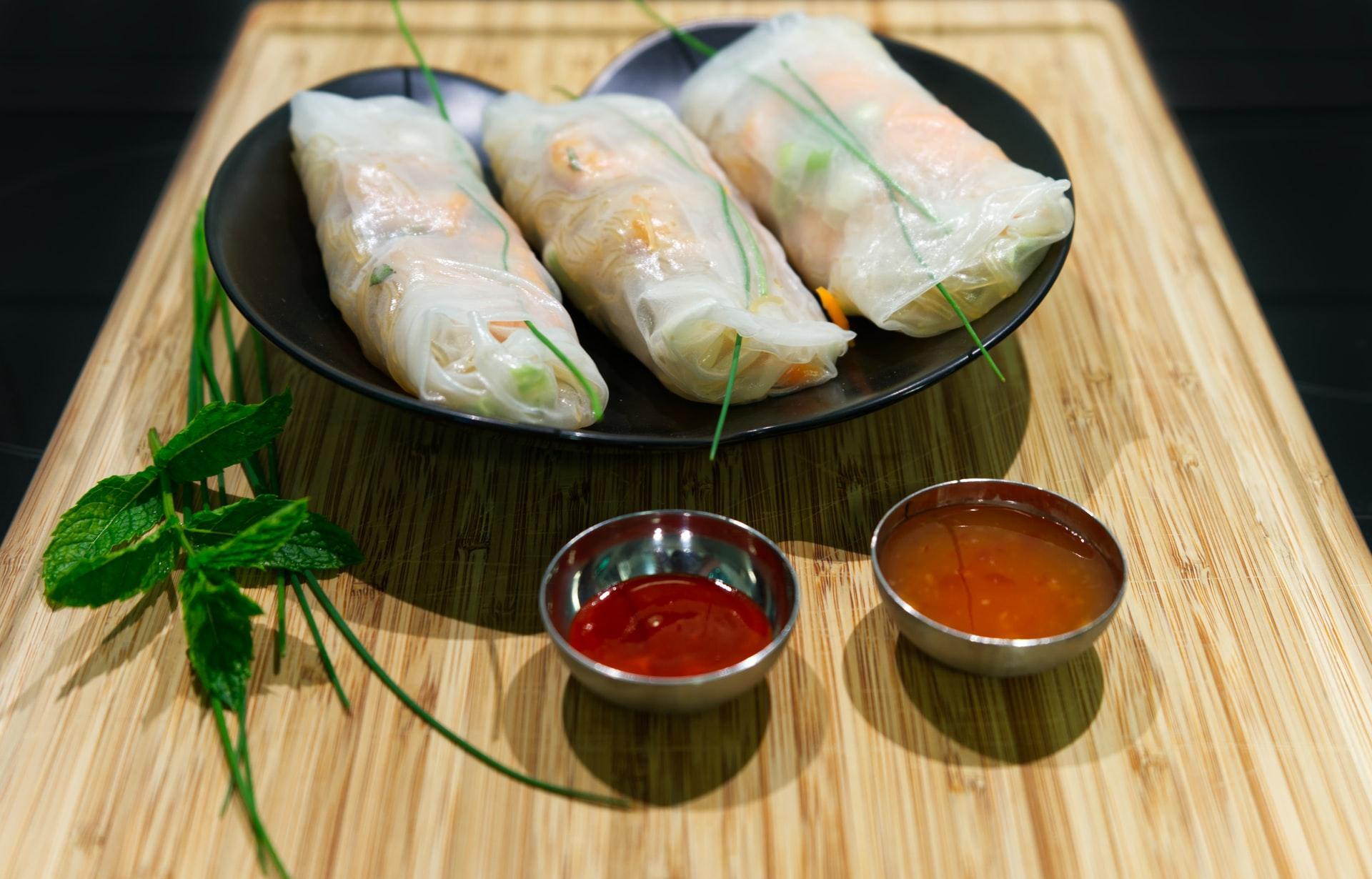 Vietnamese verse springrolls