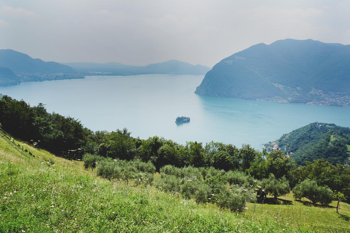 Uitzicht vanaf Via Valeriana